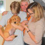 Adonis - Orange - kommt zur Familie Glatzer nach Niederösterreich