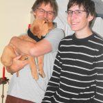 Antony - grün - kommt zur Familie Roemer nach Deutschland